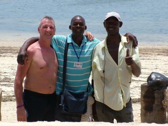Sandies Coconut Village: allex ook een zeer betrouwbare beach-boy
