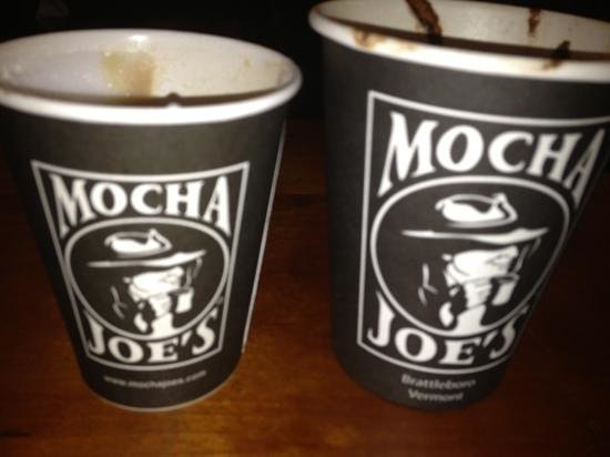 Mocha Joe : cap and cafe mocha
