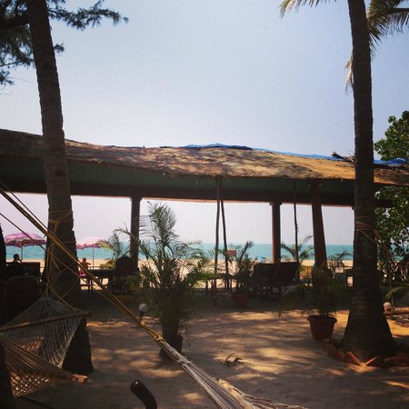 Om Sai Beach Huts: View from our hut