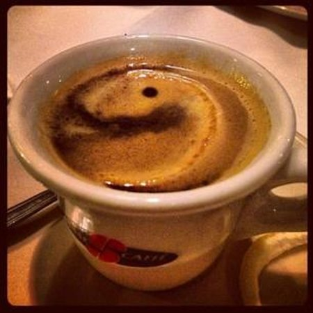 Bocci's Italian Village: The best espresso!