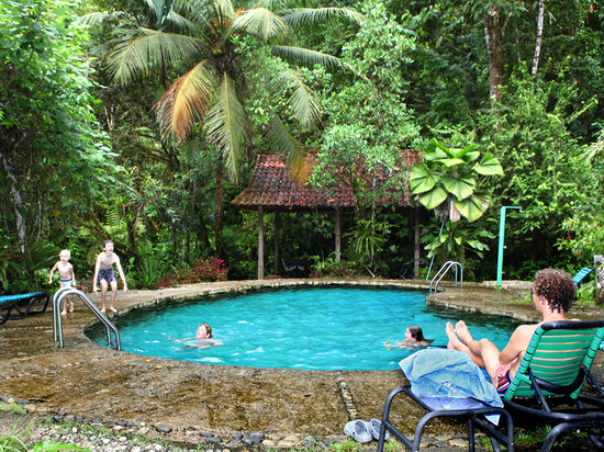 Esquinas Rainforest Lodge: Chlorine-free natural swimming pool