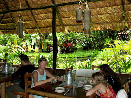 Esquinas Rainforest Lodge: Restaurant serving gourmet Costa Rican food