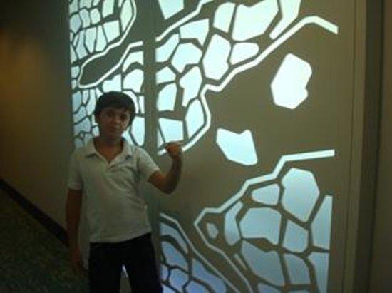 JA Ocean View Hotel: design of walls
