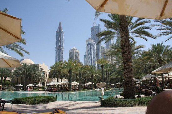 One&Only Royal Mirage Dubai: By the Pool Side