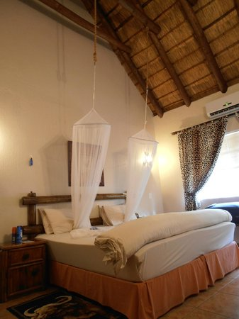 Royal Kruger Lodge: The giraffe room!