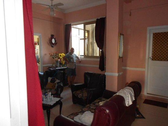 Casa Alina : il salotto/entrata