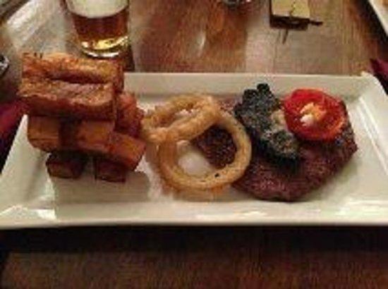 Saracens Head Hotel: Steak