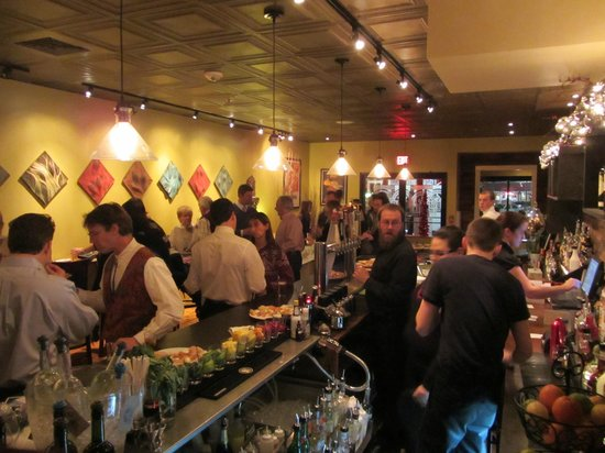 our bar during our popular happy hour - Picture of Fireworks