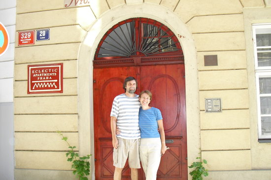 Eclectic Apartments: Eva & David, your hosts
