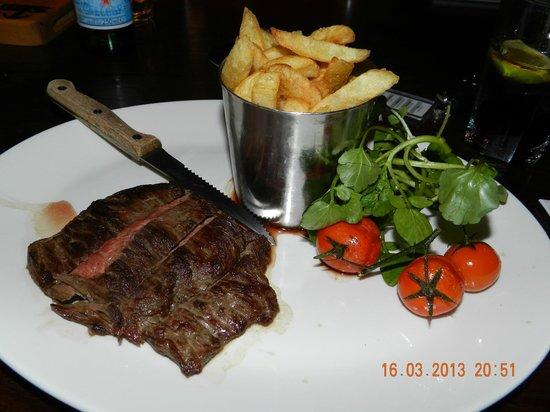 The Moorings: Steak