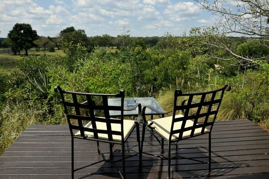 Elephant Plains Game Lodge: Vue de la rondavel n°5