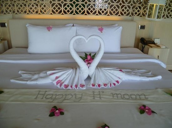 The Shore at Katathani: Honeymoon welcome