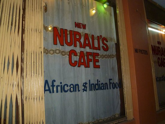 Nuralis Restaurant : The sign