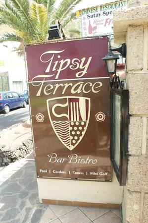 Tipsy Terrace Bar & Bistro: Tipsy Terrance