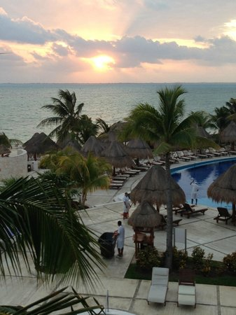 Excellence Playa Mujeres: Looking off of the rooftop