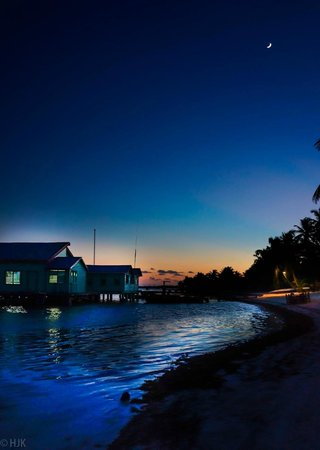 Tranquility Bay Resort : Sunset at TBR