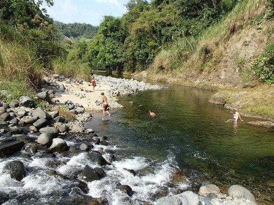 Jungle Adventures by Kalu Yala: View of the Pacora River bathing hole