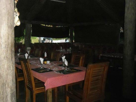 Gite Le Cocotier: restaurant