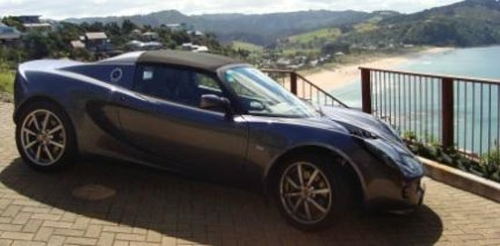 Concept Car Hire: Elise in the Coromandel