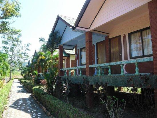Lanta Queen Resort: View from the garden