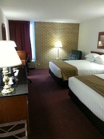 Drury Inn & Suites Hayti Caruthersville: Luxe and comfy beds