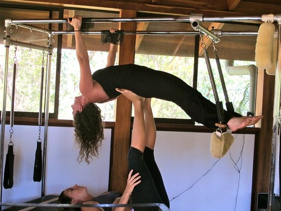 Pilates Nosara at Bodhi Tree Resort: Perfect after a day of surfing
