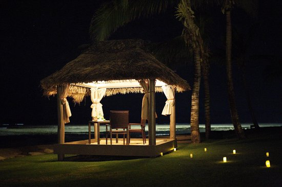 InterContinental Fiji Golf Resort & Spa: Cabana Dinner