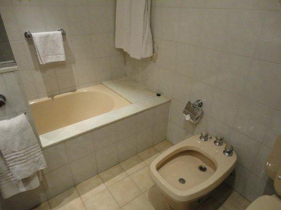 Conte Hotel: Baño