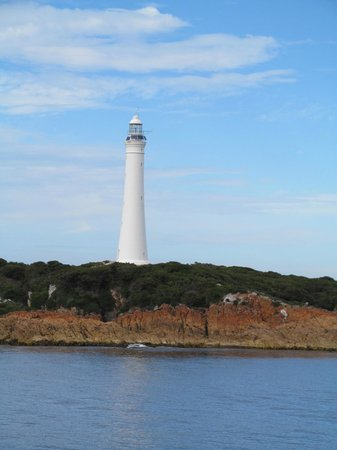 World Heritage Cruises: One of the lighthouses seen on the tour.
