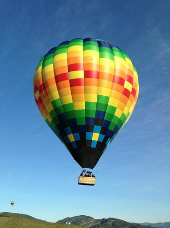 Napa Valley Aloft Balloon Rides: Beautiful morning