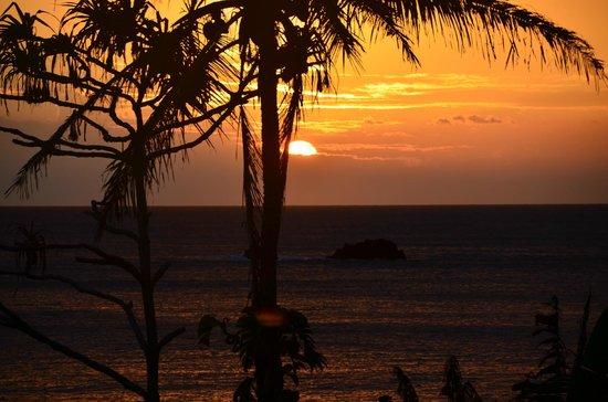 Hana Kai Maui: sunrise in Hana