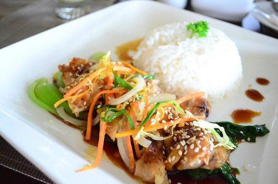 Palace Hotel: Chicken teriyaki