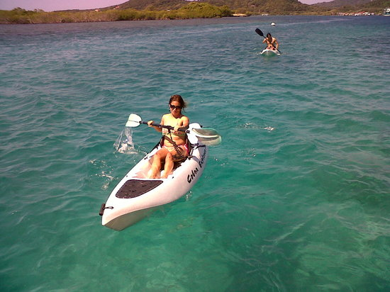 Barefoot Cay Resort: Complimentary use of kayaks