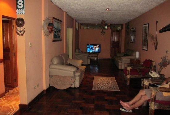 La Casa de Samantha: sala de entretenimiento