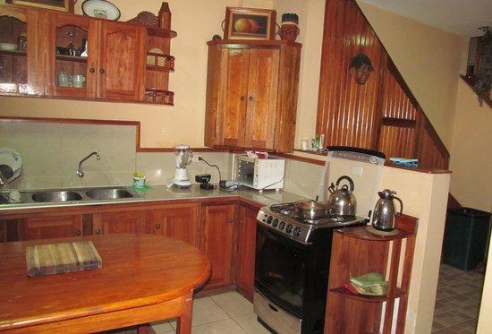 La Casa de Samantha: parte de la cocina