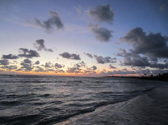Nisbet Plantation Beach Club: Sunrise at Nisbet Plantation, Nevis
