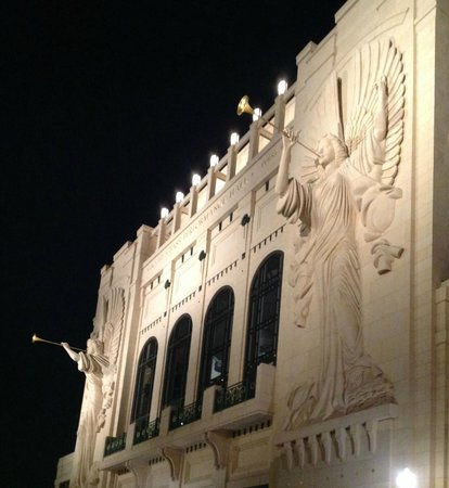 "Bass Performance Hall: ""Silent"" angels welcome at Bass Hall"