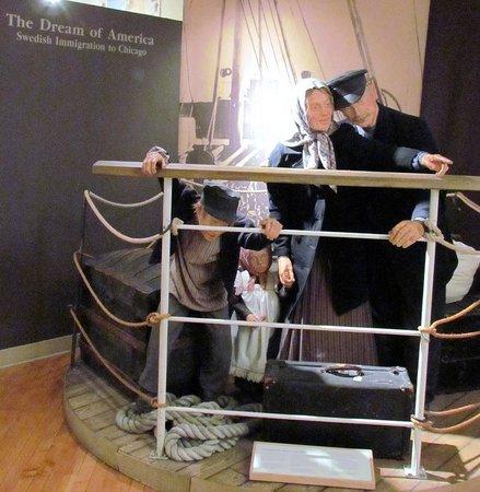 Andersonville : Exhibit inside Museum