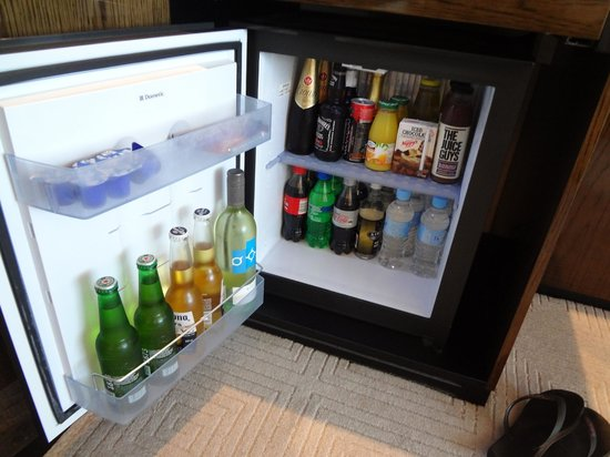 Crown Metropol Perth: Crown Perth - Well stocked Mini Bar