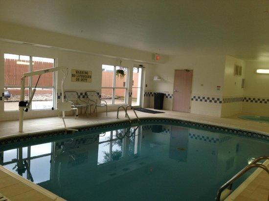 Fairfield Inn & Suites Temple Belton: Accessible Pool