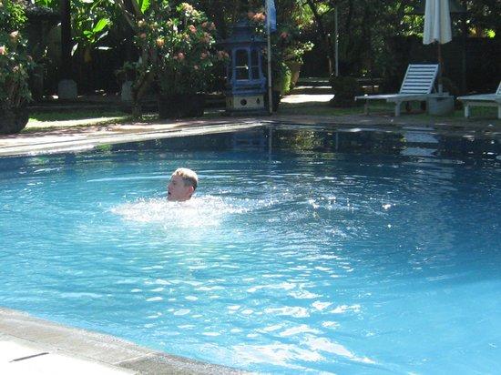 Laghawa Beach Inn: large pool, water temp beautiful