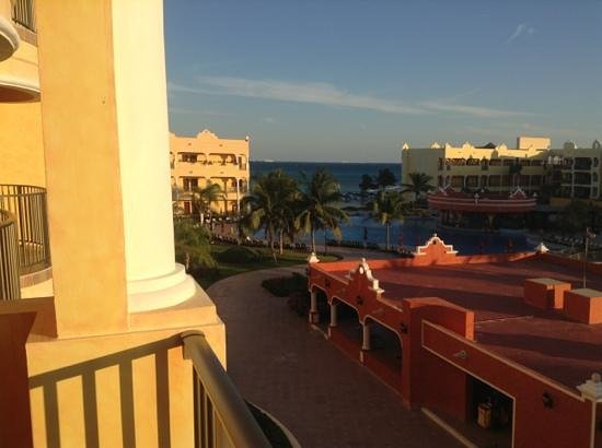 The Royal Haciendas All Suites Resort & Spa: view from our balcony