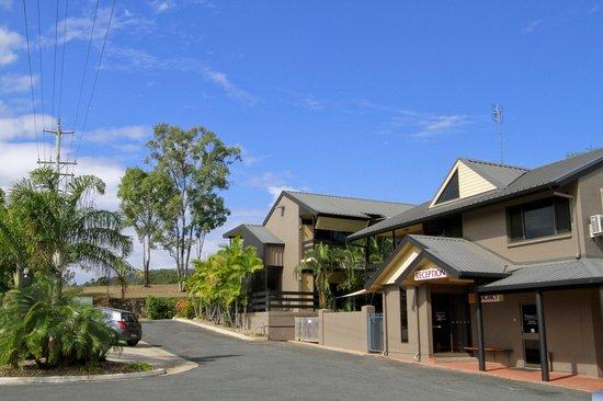Reef Gateway Hotel: RGH Accommodation reception office.