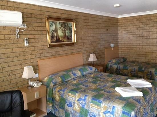 Macintyre Motor Inn: room