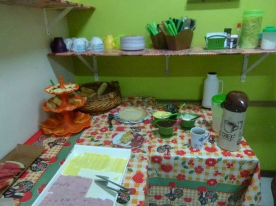 El Misti House: Desayuno