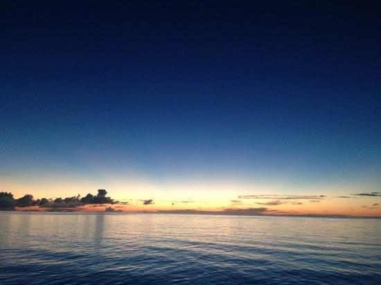 The Residence Maldives: もうすぐ夜に。