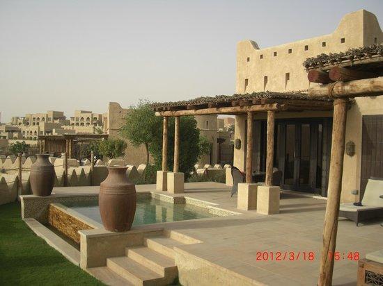 Qasr Al Sarab Desert Resort by Anantara: Private Plunge pool