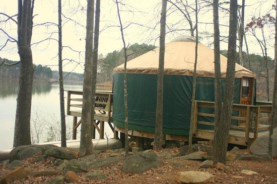 Fort Yargo State Park: Yurt #3