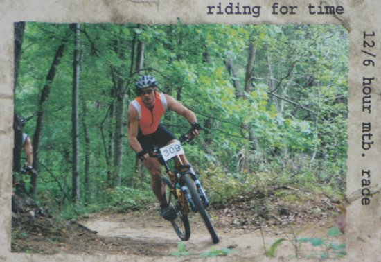 Fort Yargo State Park: Mountain Biking Races (photo of a racer at Fort Yargo)