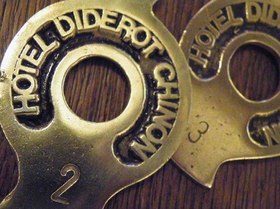 Hotel Diderot: Les clefs de la maison de famille